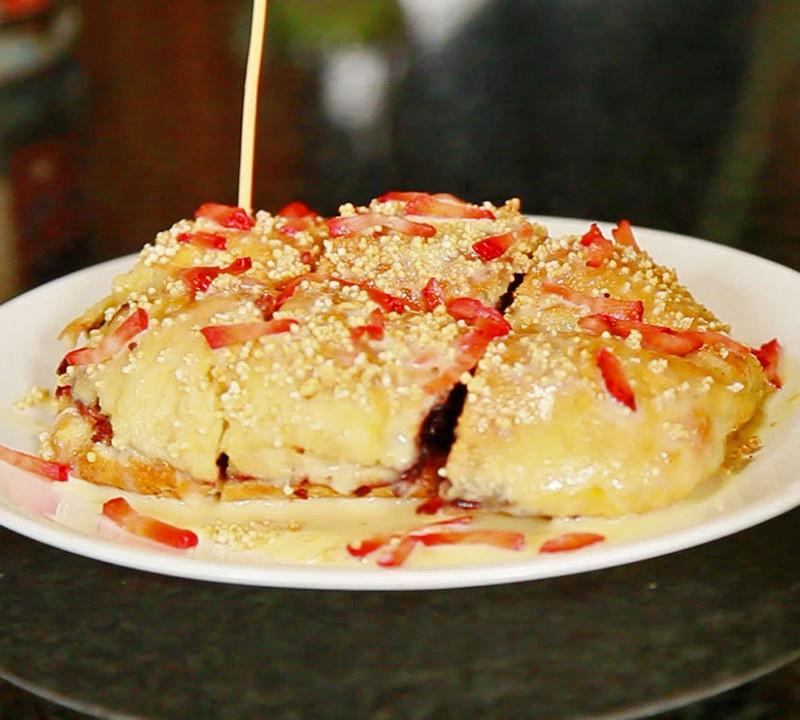 la torta comida mexicana